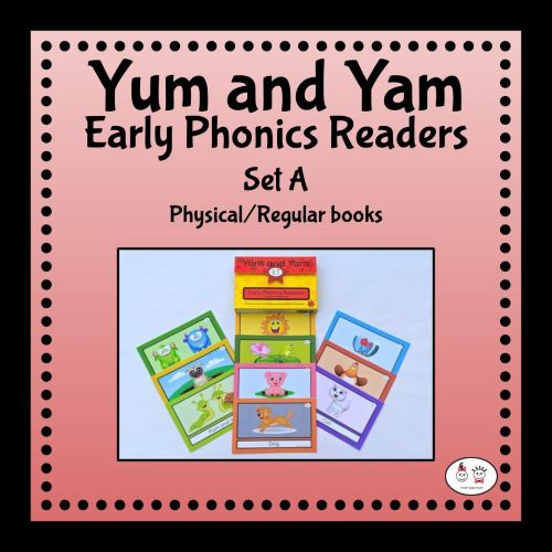 Yum and Yam Early Phonics Readers-Set-A-Physical-Regular-books