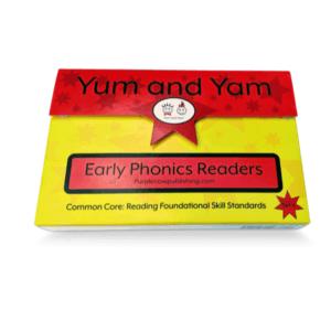 Yum-and-Yam-Early-Phonics-Readers-box-ten-books