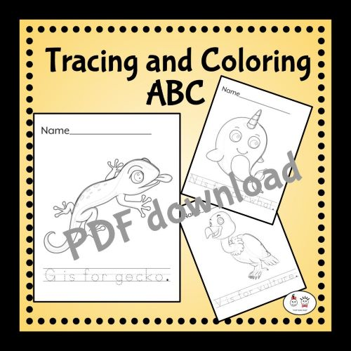 Tracing-and-Coloring-ABC-PDF
